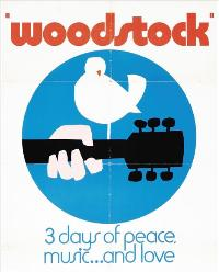 Woodstock - 27 x 40 Movie Poster - Style D