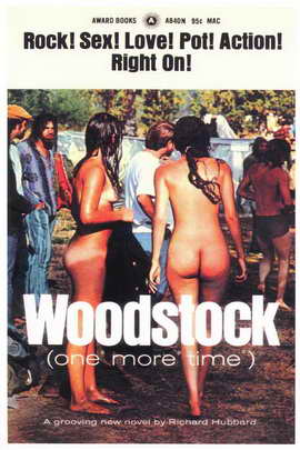 Woodstock - 11 x 17 Retro Book Cover Poster