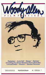 Woody Allen Film Festival - 11 x 17 Movie Poster - Style A