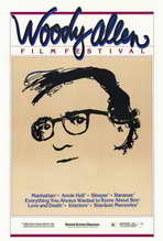 Woody Allen Film Festival - 27 x 40 Movie Poster - Style A