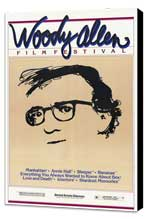 Woody Allen Film Festival - 11 x 17 Movie Poster - Style A - Museum Wrapped Canvas