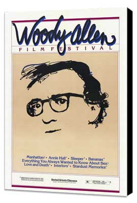 Woody Allen Film Festival - 27 x 40 Movie Poster - Style A - Museum Wrapped Canvas