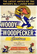 Woody Woodpecker - 27 x 40 Movie Poster - Style A