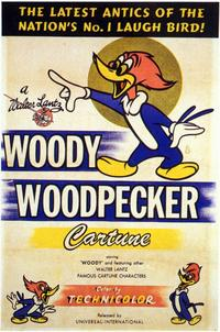 Woody Woodpecker - 11 x 17 Movie Poster - Style A
