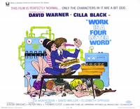 Work is a Four Letter Word - 11 x 14 Movie Poster - Style A