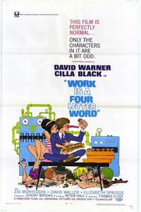 Work is a Four Letter Word - 27 x 40 Movie Poster - Style A