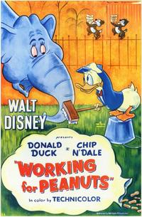 Working for Peanuts - 11 x 17 Movie Poster - Style A
