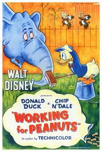 Working for Peanuts - 27 x 40 Movie Poster - Style A