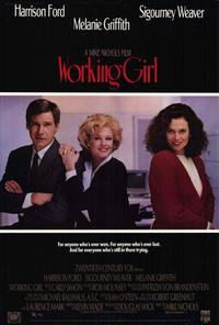 Working Girl - 27 x 40 Movie Poster - Style B