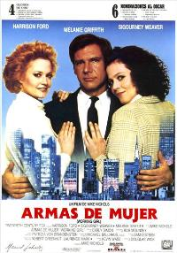 Working Girl - 27 x 40 Movie Poster - Spanish Style A