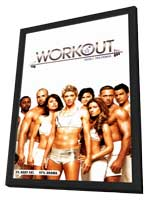 Workout - 27 x 40 Movie Poster - Style A - in Deluxe Wood Frame