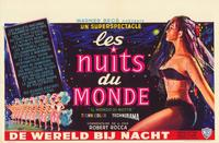 World by Night - 11 x 17 Movie Poster - Belgian Style A