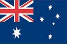World Cup Soccer 2010 - 24 x 36 Flag Poster - Australia