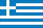 World Cup Soccer 2010 - 24 x 36 Flag Poster - Greece