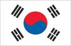 World Cup Soccer 2010 - 24 x 36 Flag Poster - Korea Republic