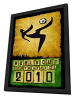World Cup Soccer 2010 - 27 x 40 Movie Poster - Style A - in Deluxe Wood Frame
