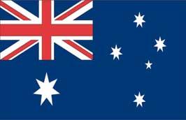 World Cup Soccer 2010 - 11 x 17 Flag Poster - Australia