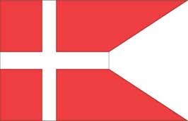 World Cup Soccer 2010 - 11 x 17 Flag Poster - Denmark
