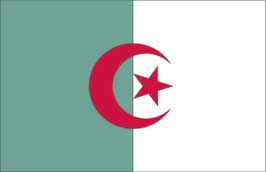 World Cup Soccer 2010 - 24 x 36 Flag Poster - Algeria
