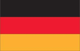 World Cup Soccer 2010 - 24 x 36 Flag Poster - Germany