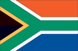 World Cup Soccer 2010 - 24 x 36 Flag Poster - South Africa