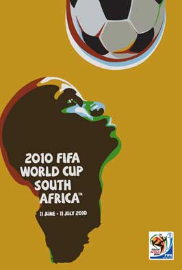 World Cup Soccer 2010 - 43 x 62 Movie Poster - Bus Shelter Style C