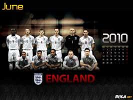 World Cup Soccer 2010 - 11 x 17 Soccer Poster - Team England Calendar