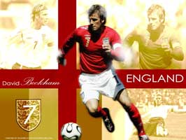 World Cup Soccer 2010 - 11 x 17 Soccer Poster - David Beckham