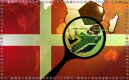 World Cup Soccer 2010 - 11 x 17 World Cup Poster - Denmark