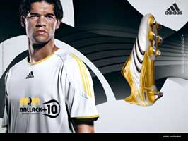 World Cup Soccer 2010 - 11 x 17 Soccer Poster - Michael Ballack