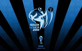 World Cup Soccer 2010 - 11 x 17 World Cup Poster - South Africa 2010 - Blue