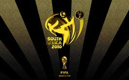 World Cup Soccer 2010 - 11 x 17 World Cup Poster - South Africa 2010 - Yellow