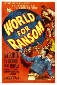 World for Ransom - 27 x 40 Movie Poster - Style A