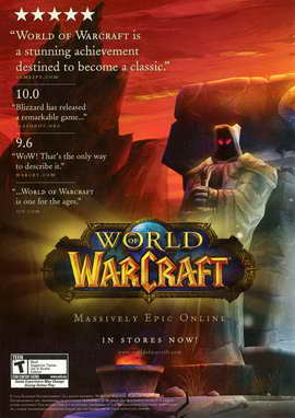 World of Warcraft - 11 x 17 Video Game Poster - Style A