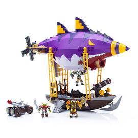 World of Warcraft - Mega Bloks Goblin Zeppelin Ambush Vehicle