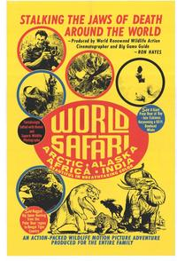 World Safari - 27 x 40 Movie Poster - Style A