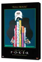 World Series of Poker - 11 x 17 Movie Poster - Style A - Museum Wrapped Canvas