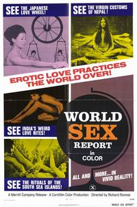 World Sex Report - 11 x 17 Movie Poster - Style A