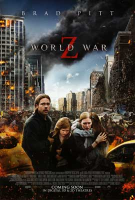 World War Z - 11 x 17 Movie Poster - Style C