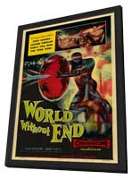 World Without End - 27 x 40 Movie Poster - Style A - in Deluxe Wood Frame