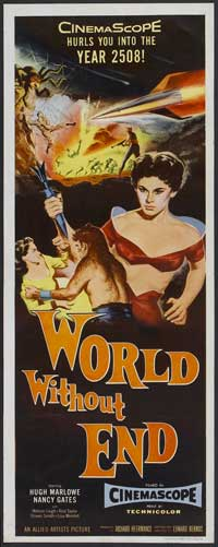 World Without End - 14 x 36 Movie Poster - Insert Style A