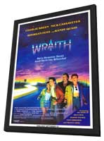 The Wraith - 27 x 40 Movie Poster - Style A - in Deluxe Wood Frame