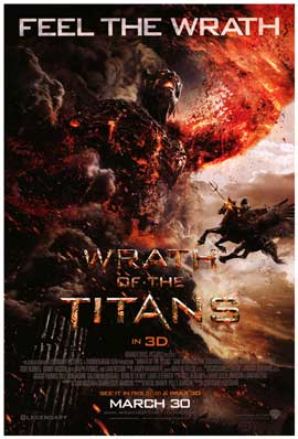 Wrath of the Titans - DS 1 Sheet Movie Poster - Style A