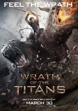 Wrath of the Titans - 11 x 17 Movie Poster - Style E