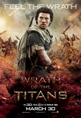 Wrath of the Titans - 11 x 17 Movie Poster - Style G