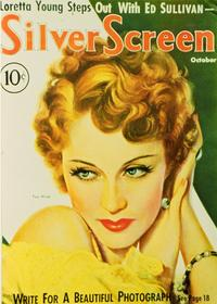 Fay Wray - 11 x 17 Silver Screen Magazine Cover 1930's Style A