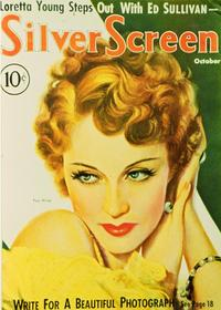Fay Wray - 27 x 40 Movie Poster - Silver Screen Magazine Cover 1930's Style A