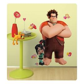 Wreck-It Ralph - and Vanellope Giant Peel and Stick Wall Decal