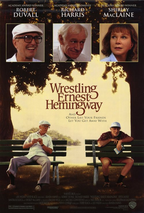 Wrestling Ernest Hemingway movie