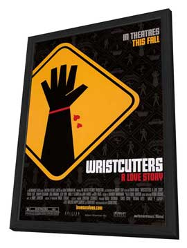 Wristcutters: A Love Story - 27 x 40 Movie Poster - Style B - in Deluxe Wood Frame
